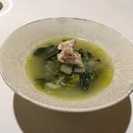 リストランテ イル バンビナッチョ - 野菜のスープ