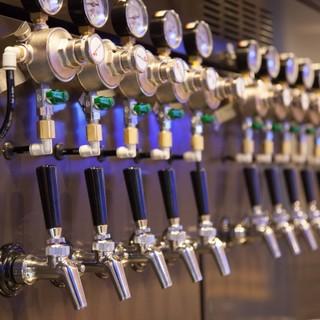クラフトビール10タップ!