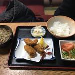 奥藤丸の内第8分店 - カキフライセット