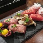 肉バル×イタリアン RIVIO - 肉寿司10貫
