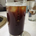清香園 - ◆ランチ時はソフトドリンクが100円ですので「アイスコーヒー」を。 かなり薄いのでコーラにした方がよかったかも。