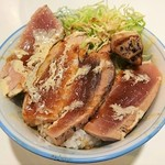キッチン ソウショー - 炙りマグロランチ 上丼