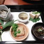 Moritaya - 特撰の前菜5種