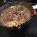 桜井 - 肉うどん
