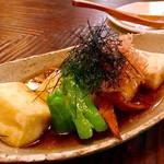 四季彩亭 穂ずみ - 揚げ出し豆腐