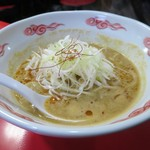 京橋ササラ - 海老味噌ラーメン