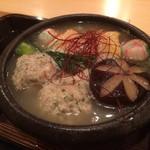 霞町 しろう - 鍋物:鶏鍋