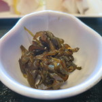湘海亭 - 胡瓜の醤油漬けピリ辛風アップ