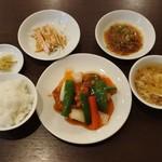 中国菜 膳房 - ランチの酢豚900円