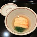 日本料理 晴山 - (2013年12月)淡路の穴子と海老イモ