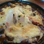 Cafe Winds - 季節野菜と豆腐、ベーコンの焼きカレー