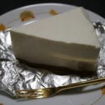 61245370 - 栗リキュール白あん入りレアチーズケーキ