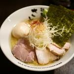 さとう 桜新町店 - 豊魚鶏だし特製塩ラーメン¥980