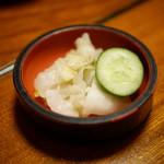 川魚 根本 - お新香