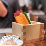 焼鳥スエヒロガリ - 野菜スティック