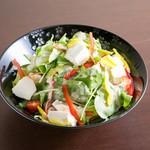 おばんざい居酒屋 本気家 - 豆腐サラダ