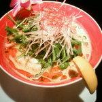 ASIAN BOWL 冬蔭激城麺 - (白)(1500円)