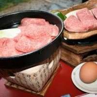 建治旅館 - A-5等 最高級飛騨牛すき焼きとヒレステーキ、産みたて地鶏有精卵でお召し上がりください。