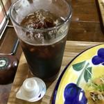 All days cafe - アイスコーヒー付きの日替りランチ