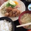 せんな里 - 料理写真:竜田揚げ定食(800円)★★★☆☆