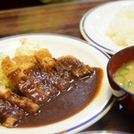 喫茶スター - ポークカツ定食