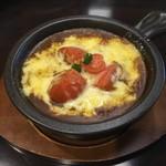 天馬屋 - 3種のチーズと完熟トマトの焼きカレー