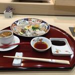 明徳  - 前菜 フグの刺身