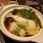 和食 ひと塩 - あんこう鍋完成