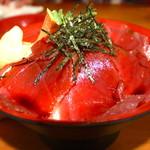 魚河岸 丸天 - 鉄火丼 1204円