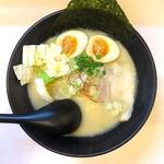 拉麺 浜田屋 - 鶏とん醤油ラーメン+煮玉子