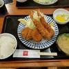 とんかつ 田 - 料理写真:ヒレカツ2 エビフライ2