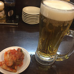 61257656 - 生ビール&キムチ