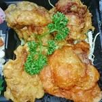 からあげ とお山 - 国産鶏モモ肉4個