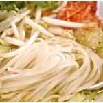 999 - ツルツルした米粉麺。