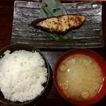 魚の旨い店 - 【料理】銀だらの西京漬け定食