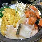 権倉 - コース料理(寄せ鍋)