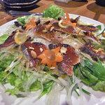 権倉 - コース料理(鰹のカルパッチョ)