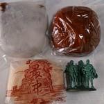 大久保屋製菓店 - 料理写真:大福、みそまん、最中、各100円