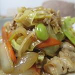 ほっともっと - 肉野菜炒めアップ