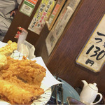 讃岐麺房 すずめ - 天婦羅売ってます