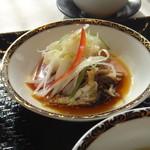 銀座アスター - 白身魚と野菜の強火蒸し
