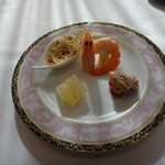銀座アスター - 前菜