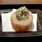 天ぷら 穴子蒲焼 助六酒場 - 大根おでん天ぷら