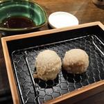 天ぷら 穴子蒲焼 助六酒場 - たこ焼き天ぷら