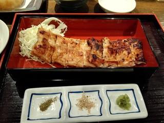 天ぷら 穴子蒲焼 助六酒場 - 穴子焼き