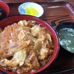 浜茶や食堂 - カツ丼 600円