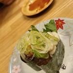 海転寿司 魚河岸 - 料理写真:青森県 白子の軍艦巻