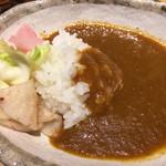 お日さまのえがお - 2017/1/13   野菜の旨みがとけ込んだカレーも美味しい(^_^)v