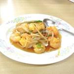 中華料理天鳳 - 海老の甘酢