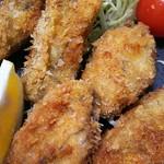 かき忠ハウス - 牡蠣フライ